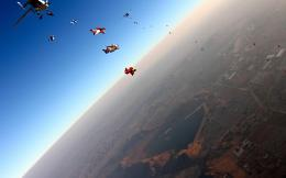 Amazing skydiving view nice sports wallpaper 148
