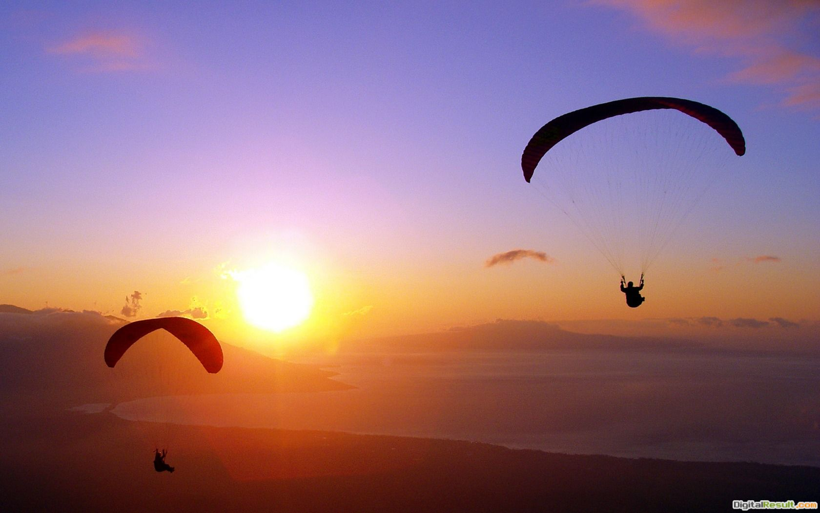 Skydiving Wallpaper Sunset Free download hq skydiver sunset wallpaper 208