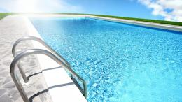Swimming Pool Near Ocean HD wallpaper for Standard 4:3 5:4 Fullscreen 395