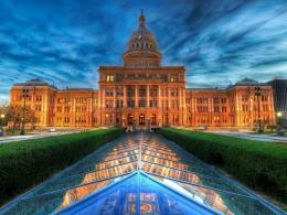 Texas Capitol At Dusk Hd Wallpaper | Wallpaper List 1422