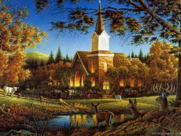 Terry Redlin Paintings, Artworks, Art Paintings 1547