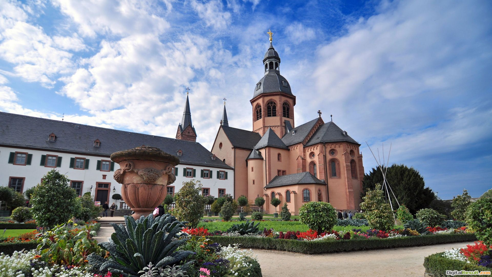 Beautiful church in seligenstadt germany HD Wallpaper 372
