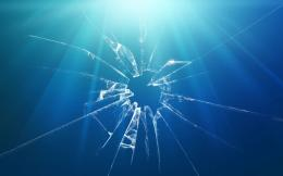 Blue minimalistic glass broken glass wallpaper | 1680x1050 | 217726 478