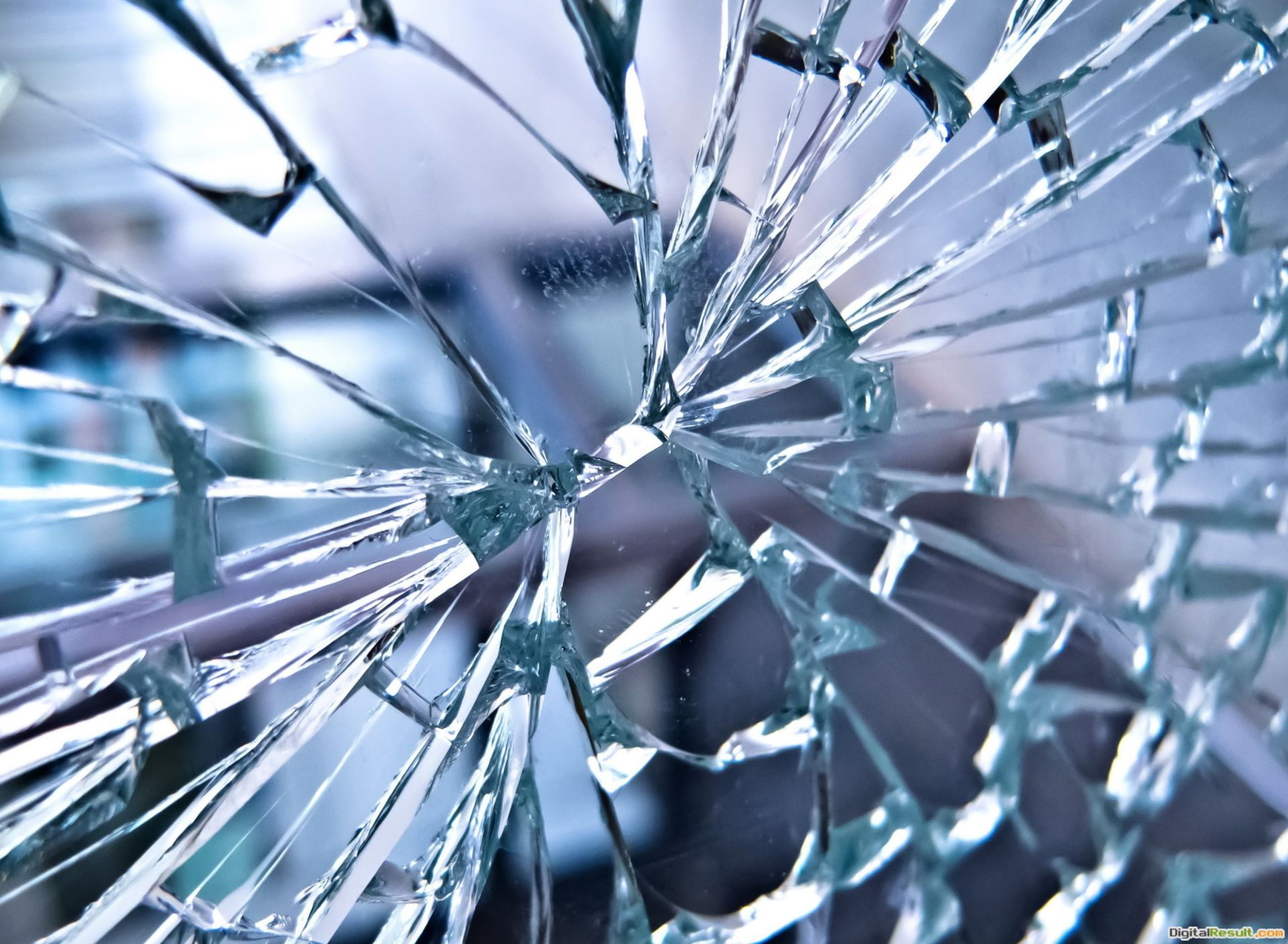 Broken Glass Wallpaper for Samsung Galaxy S5 530