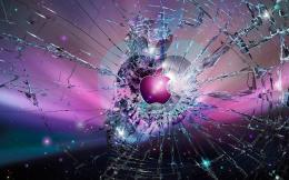 Broken Glass Apple LogoCool Wallpapers 1745