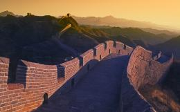px architecture China Great Wall Of China Hill landscape sunset 517