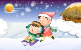 childhood, happy child, cartoon wallpaper 3 High Definition Wallpapers 1839