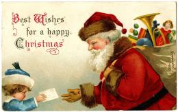 Antique ImageSanta gets Letter from ChildThe Graphics Fairy 591