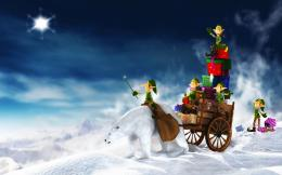 2011 Christmas Elfs Gifts Wallpapers | HD Wallpapers 1653