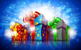 Free Special Christmas Gifts, computer desktop wallpapers, pictures 1286