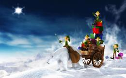 2011 Christmas Elfs Gifts Wallpapers | HD Wallpapers 291