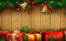 Christmas Gifts Wallpaper Holiday background, gifts 731