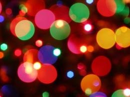 Christmas 2014 Colorful Bubbles Lights Hd Wallpaper | Wallpaper List 225