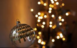 Christmas new year 2016 Ball Lights wallpaper 1812