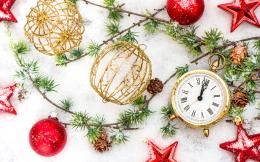 new year merry christmas ornaments Beautiful winter snow wallpaper 1055