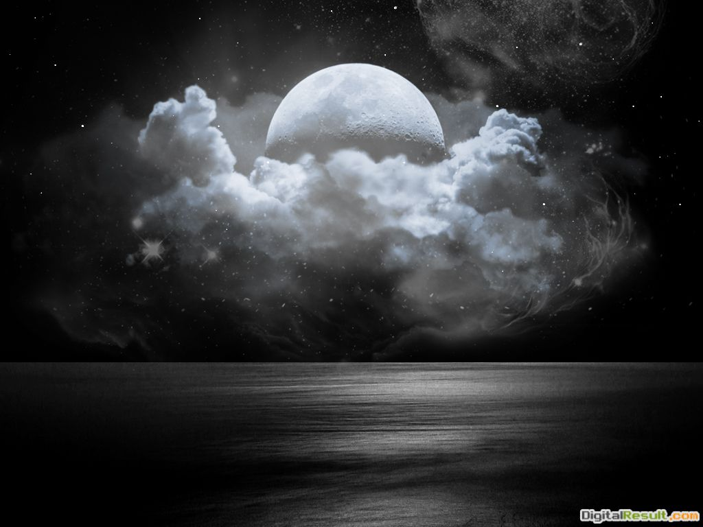 Cloudy Moon by xeeshan ch on DeviantArt 350