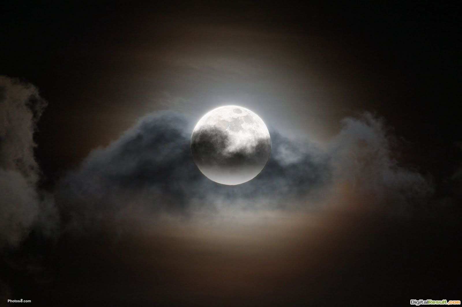 cool wallpapers: Full moon night 232