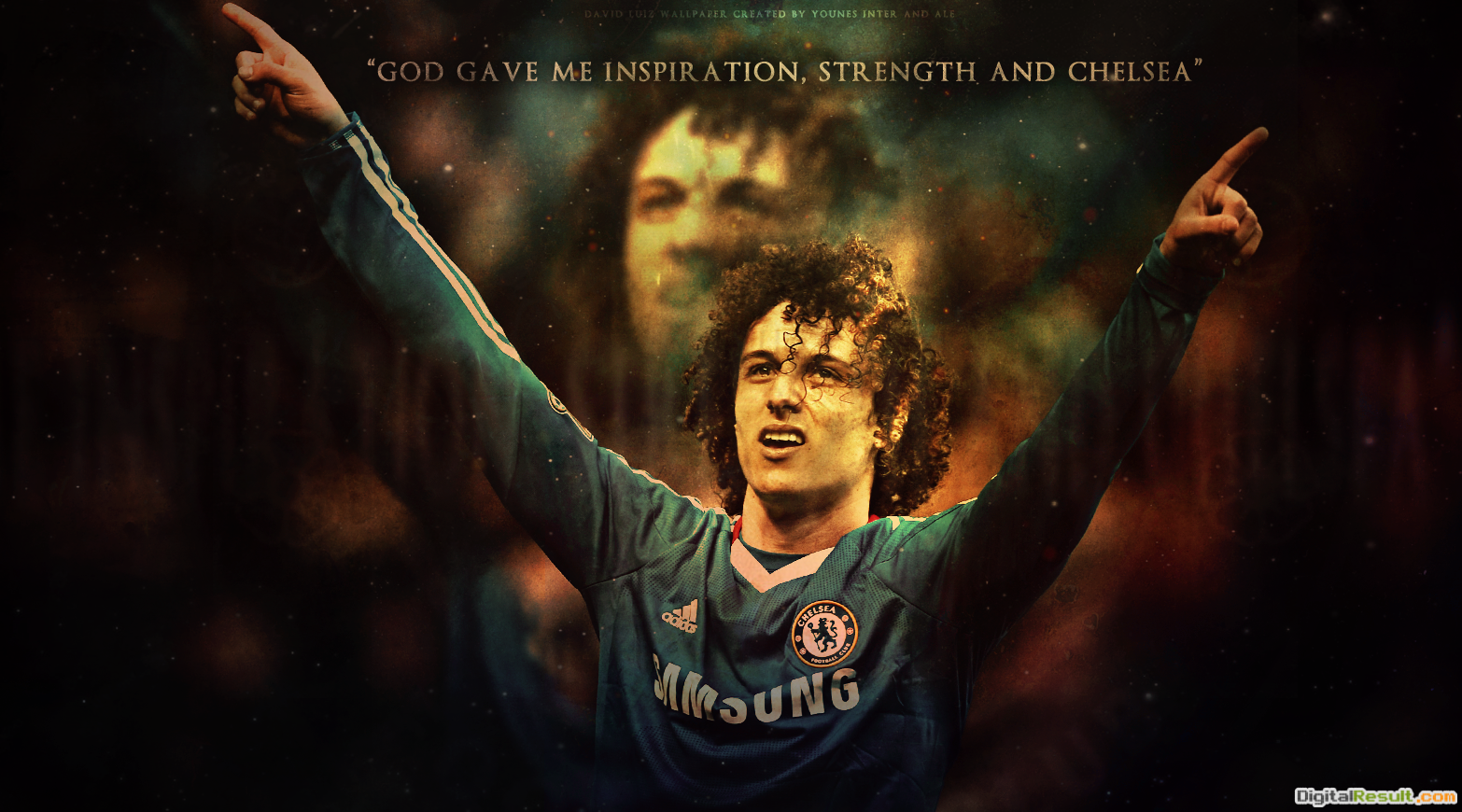David LuizChelsea FC by SOCCERFANTASYART ORG on DeviantArt 1195