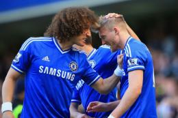 André Schürrle and David Luiz Chelsea Wallpaper 559