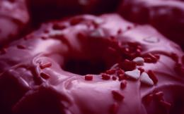 wallpaper, donuts wallpapers, atom orbiting pink donutsPink Donut 856