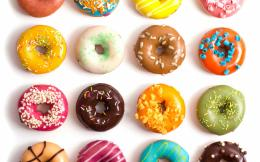Donuts Wallpaper, colorful, donuts, pastries, icing, sweet, dessert 771