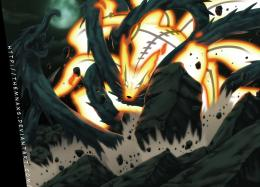 deviantART: More Like Wooden Dragon VS Kurama by themnaxs 1394
