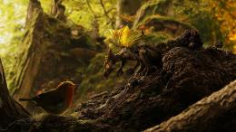 Download Dragon wood vs bird wallpaper in Animals wallpapers with all 1305