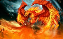 Fire Phoenix Animated 621