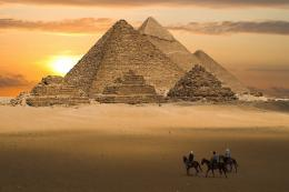 Egypt Pyramids Sunset Photography wallpaper | Best HD Wallpapers 1756