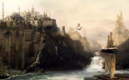 1440x900 Ancient Castle desktop PC and Mac wallpaper 450