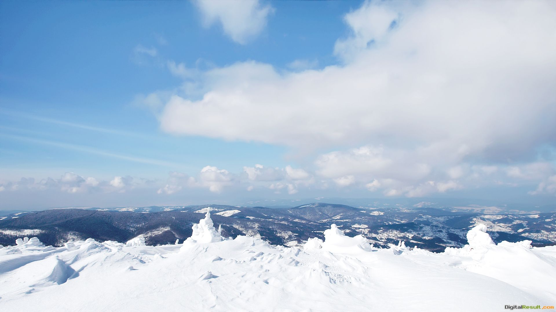 winter snow snow mountains sky obloka wallpapers wallpapers nature jpg 686