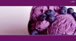 Blueberry ice cream fruits violet food wallpaper 932