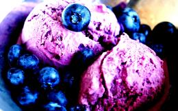 Wallpapers Blueberries Ice Cream My 1920x1200 Pictures to pin on 1315