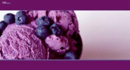 Blueberry ice cream fruits violet food HD Wallpaper 1694