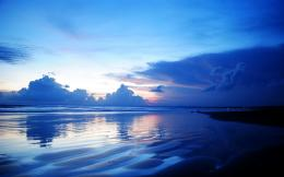Blue Dusk Background 1586