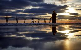 Download South Haven Lighthouse wallpaper in Nature wallpapers with 649