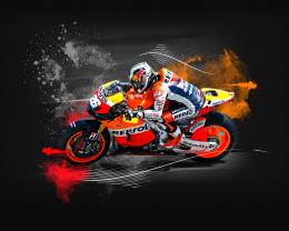 wallpapers hd for mac: Dani Pedrosa MotoGp Wallpaper HD 856