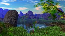 Pictures mushroom lake wallpaper free 3d hq desktop wallpapers at 449