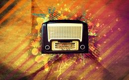 vintage, radio, wallpaper, honeygoune 598