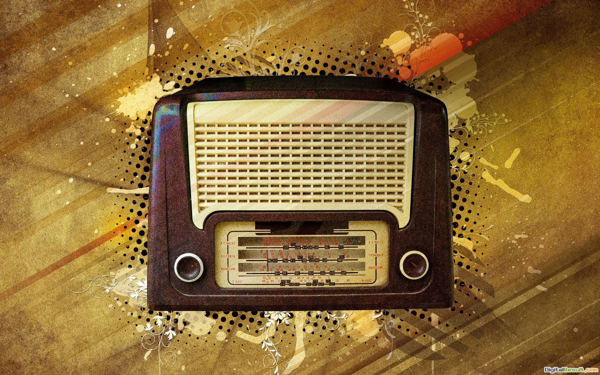 How to Create a Vintage Radio Poster in Photoshop | Live pictures 792