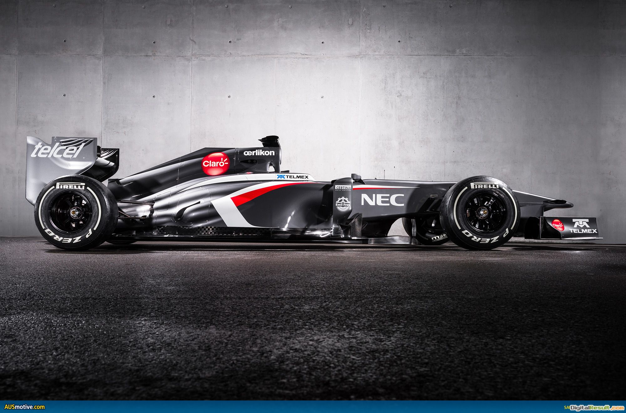 The Sauber F1 team launches the new Sauber C32 Ferrari 1409