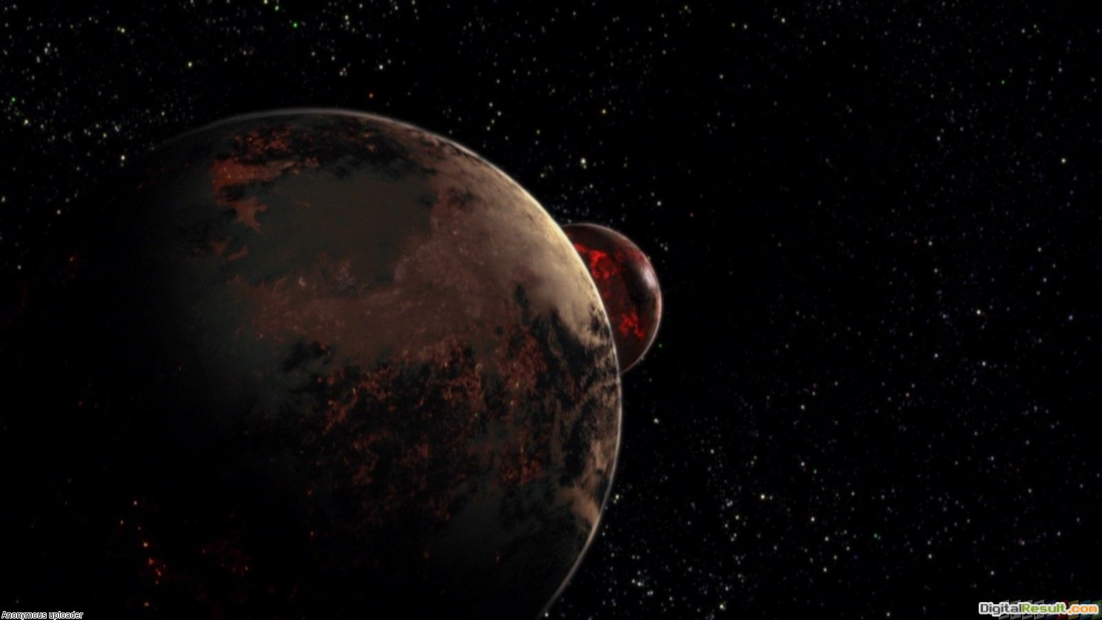 Space, red planet wallpaper #2368Open Walls 218