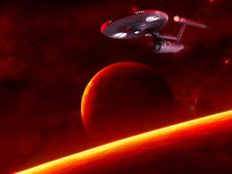 Red Planetfree Star Trek computer desktop wallpaper, pictures 763