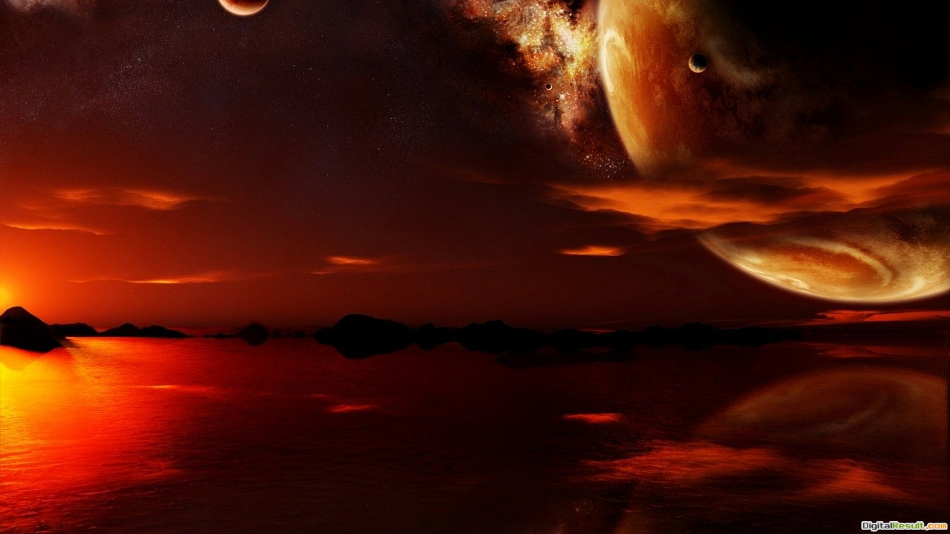 Red planet wallpaper #9269 1086