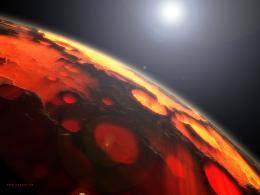 Red PlanetDesktop Wallpaper 1945