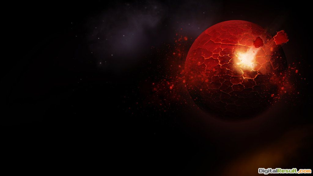 Exploding Red Planet Wallpaper by Black B o x on DeviantArt 1767