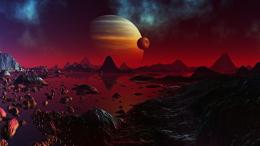 Red Planet and JupiterSci Fi Desktop Wallpaper1920x1080 pixels 1859