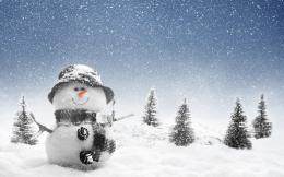 Free Christmas Snowman Wallpapers: Christmas by Free HD Wallpapers 1742