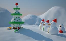 Snowman Christmas wallpapers | Snowman Christmas stock photos 1244