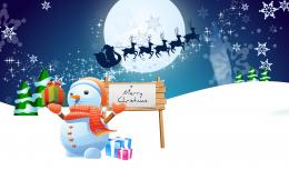christmas merry snowman wallpaper wallpapers walls 1920x1200 255